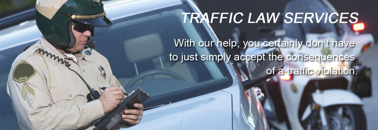 Traffic Tickets & Traffic Citations - Traffic Law Services