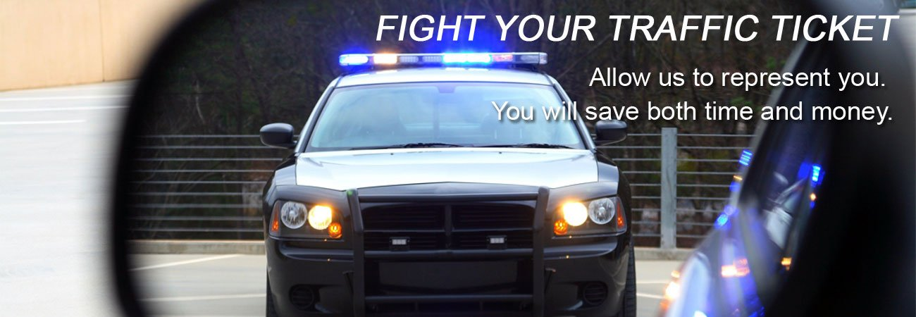 Fight Traffic Tickets & Traffic Citations - Save money and time