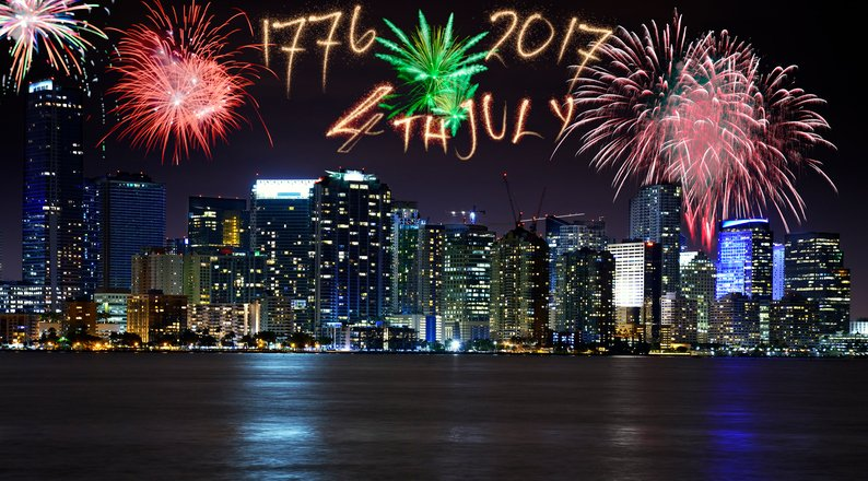 Miami 4th of July fun
