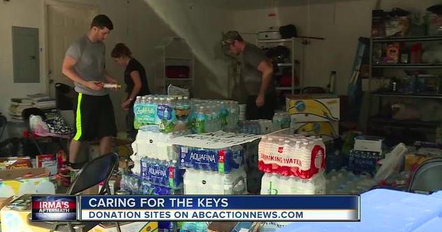 Hurricane Irma relief effort